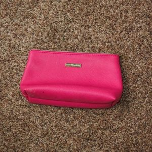 bareMinerals Hot Pink & Gold Cosmetic Bags